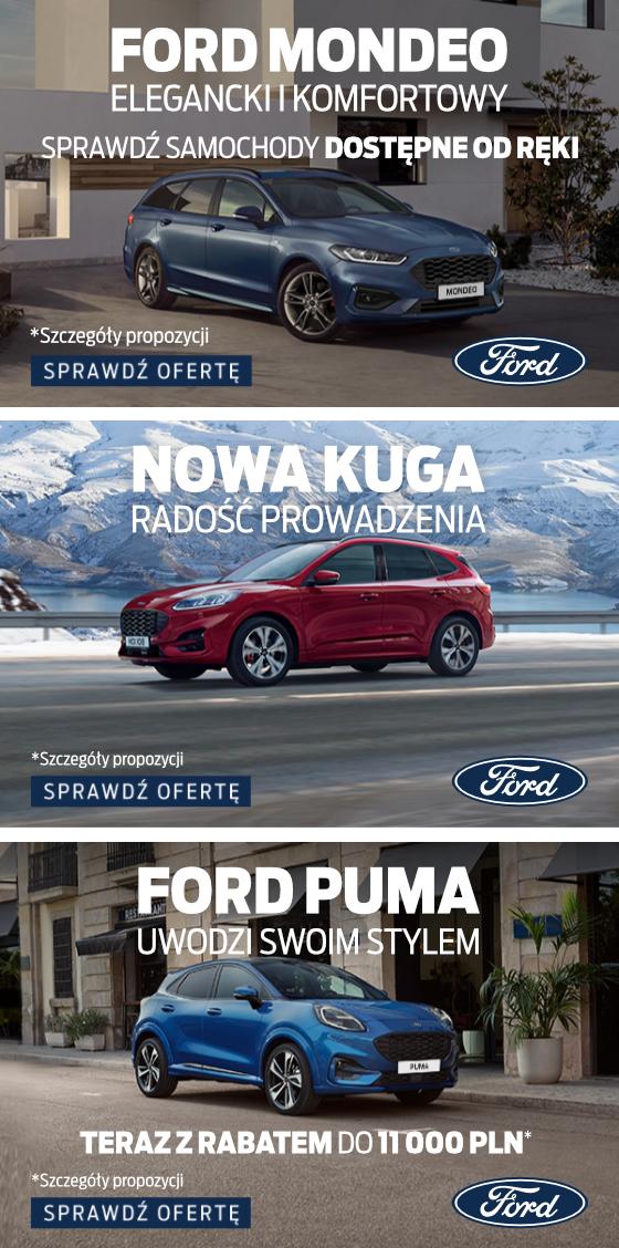 Wyprzedaż Forda 2020